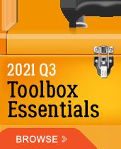 2021 Q3 Toolbox Essentials