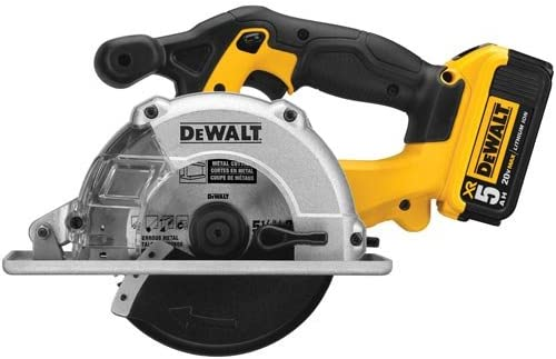Milwaukee DEWALT DC S373P2 20V Metal Circular Saw