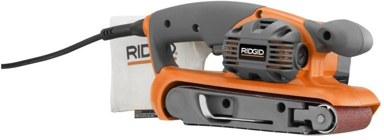 Ridgid ZRR2740 6.5 Amp 3-in X 18-in Heavy Duty Variable Speed Belt Sander