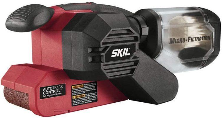 SKIL 7510-01 Sandcat 6 Amp 3-Inch x 18-Inch Belt Sander