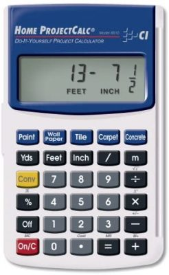 Calculated Industries 8510 Home ProjectCalc DIY Project Calculator
