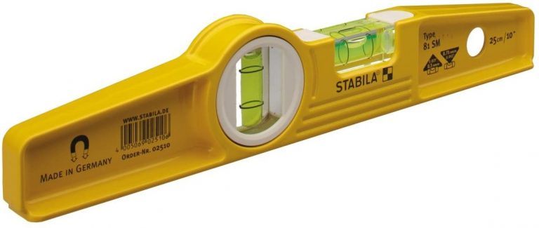 Stabila 25100 10-Inch Die-Cast Rare Earth Magnetic Level