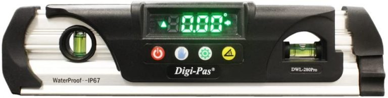 Digi-Pas DWL280PRO Waterproof IP67 Digital Torpedo Level