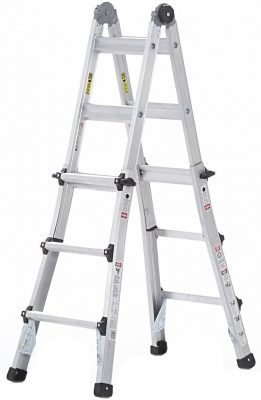 Cosco World's Greatest Multi-Position 21-Foot Ladder