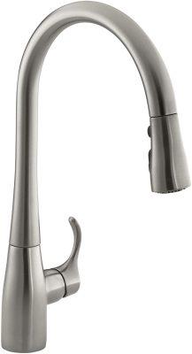 Kohler K-596-Vs Simplice Faucet