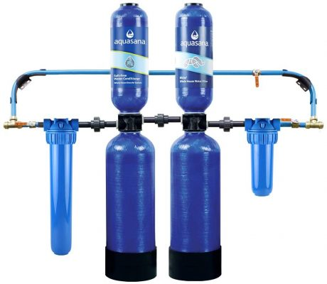 Aquasana Whole House Water Filter System w/ Salt-Free Conditioner