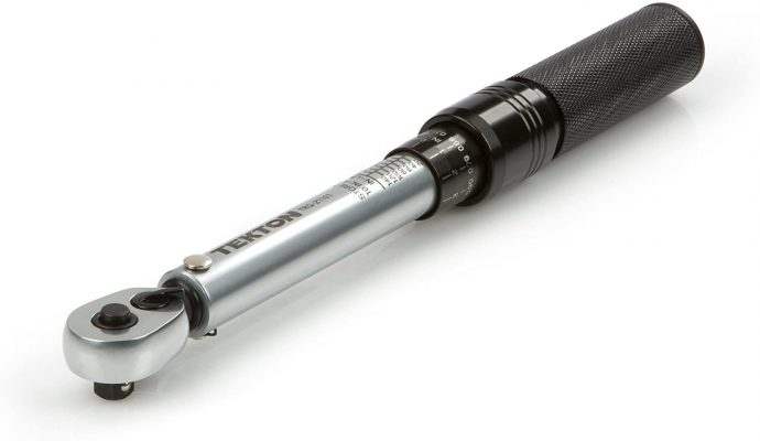 Tekton ¼ Inch Dual-Direction Click Torque Wrench