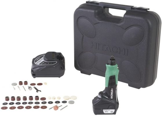 Hitachi GP10DL Cordless 12-Volt Peak Lithium-Ion Variable Speed Rotary Tool