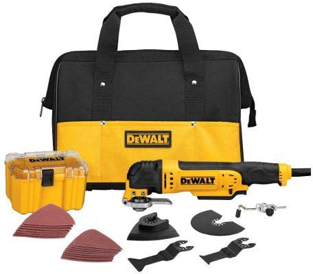 Dewalt DWE315K Multi-Material Corded Oscillating Tool Kit