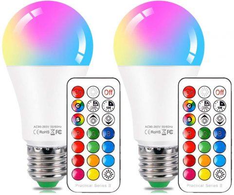 RGB Mood Light LED Bulb