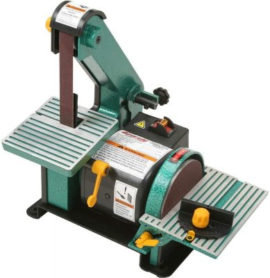 "Grizzly H6070-1"" x 30"" Belt/5"" Disc Combo Sander"