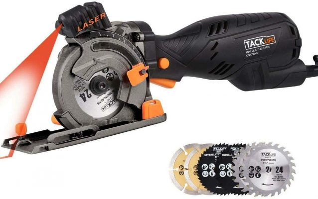 Tacklife Circular Saw with Laser Guide