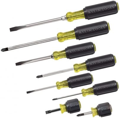 Klein Tools 85078 Cushion Grip Screwdriver Set