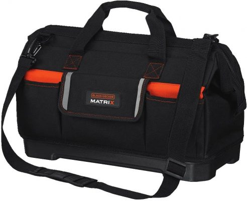 Black and Decker Matrix Wide Mouth Storage Tool Bag