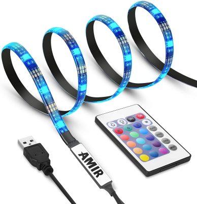 AMIR TV LED Light Belt, Multi Color Changing