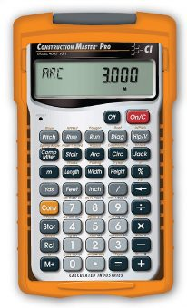 Calculated Industries 4065 Construction Master Pro Advanced Construction Calculator