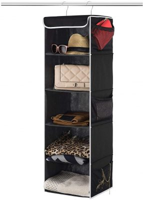 Zober 5-Shelf Hanging Closet Organizer