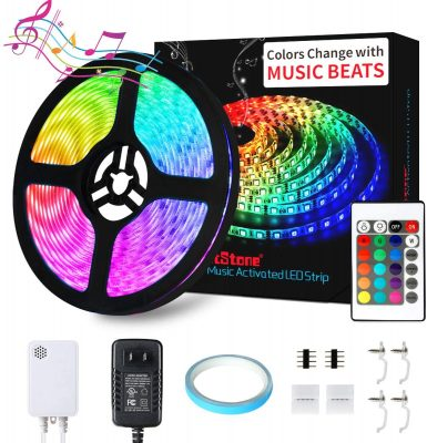 DotStone Music LED Strip Lights
