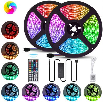 Elfeland LED SMD5050 RGB Strip Lights