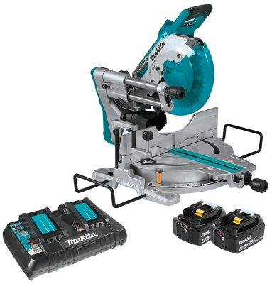 Makita XSL06PT Dual-Bevel Sliding Compound Miter Saw