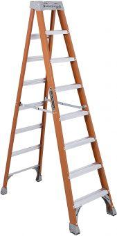 Louisville Ladder 8-Feet Fiberglass Step Ladder