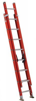 Louisville Ladder FE3216 Fiberglass Extension Ladder
