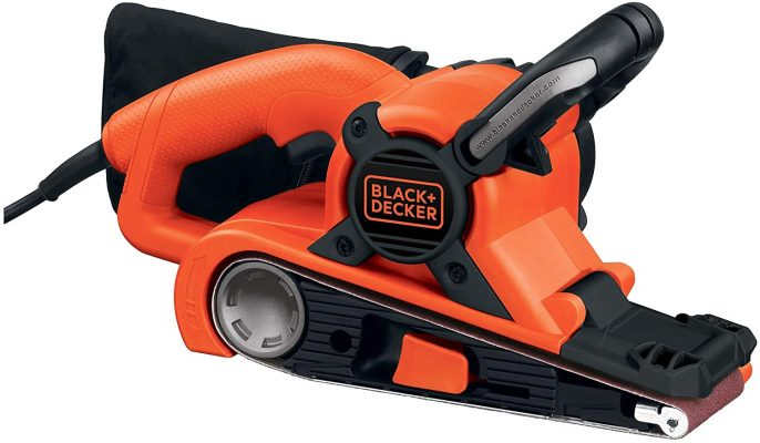BLACK+DECKER DS321 Dragster 7 Amp 3-Inch by 21-Inch Belt Sander