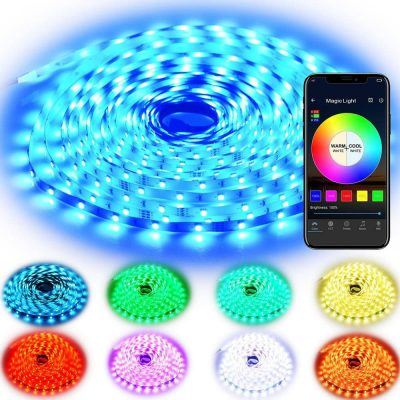 Rxment RGB LED Strip Lights with Remote