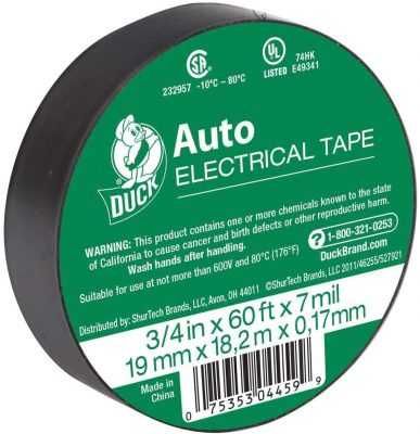 Duck Brand Vinyl Electrical Tape