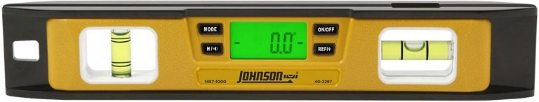 Johnson Level & Tool 1457-1000 10-Inch Magnetic Electronic Digital Torpedo Level