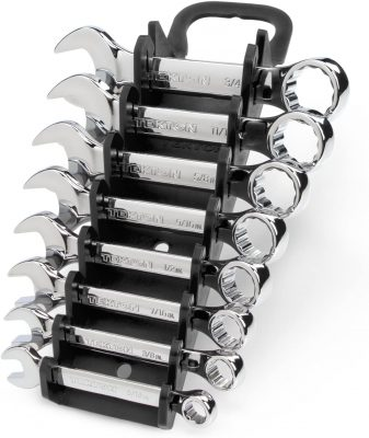 TEKTON Stubby Combination Wrench Set
