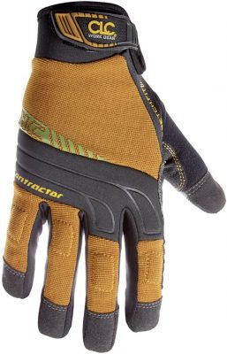 CLC Custom Leathercraft 160L Contractor XtraCoverage Flex Grip Work Gloves