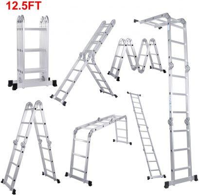 Lifewit 12.5ft Folding Ladder