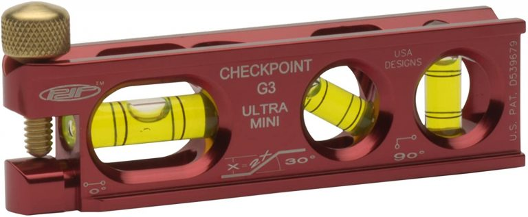 CHECKPOINT 0303R Ultra-Mini G3 Torpedo Level, Red
