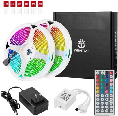 WenTop SMD5050 LED Light Strip Kit