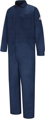 Bulwark Men's Flame Resistant Deluxe Twill Coverall