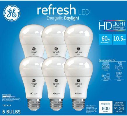 GE Refresh HD LED Bulb