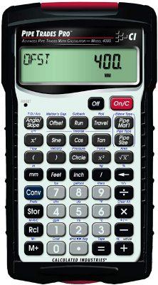Pipe Trades 4095 Advanced Pipe Trades Math Calculator