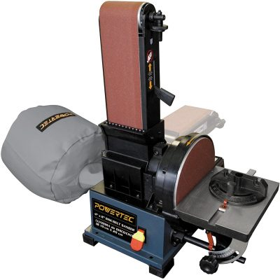 Powertec BD4800 Woodworking Belt Disc Sander