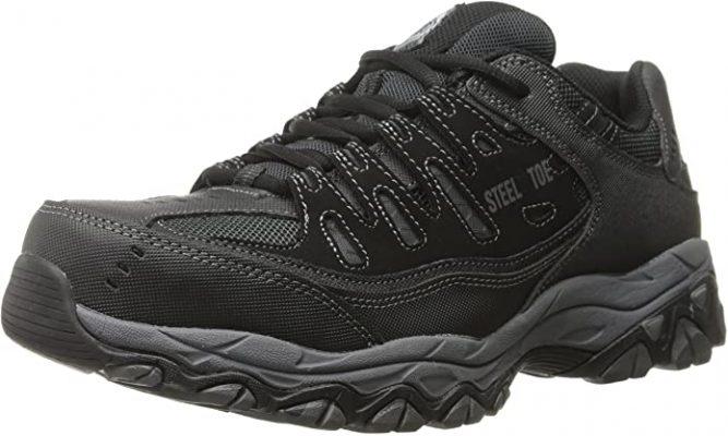 Skechers for Work Cankton Steel Toe Work Sneaker
