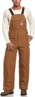 Carhartt Men's Quilt Lined Bib