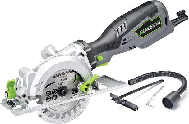 Genesis GCS545C Control Grip Compact Circular Saw