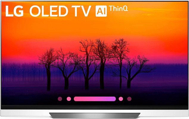 LG Electronics OLED65E8PUA 65-Inch 4K Ultra HD Smart OLED TV