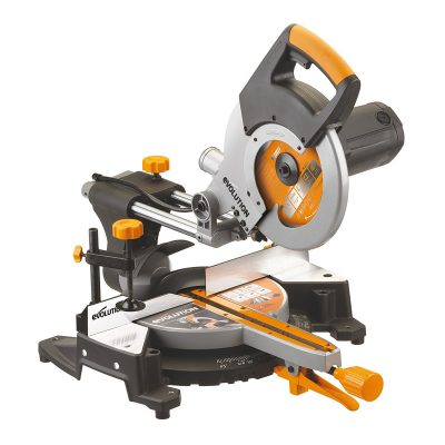 Evolution Power Tools RAGE3 10-Inch Multipurpose Cutting Compound Sliding Miter Saw (324)