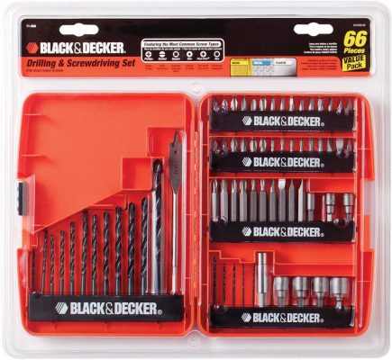 Black+Decker 71-966 Drilling and Screwdriving Set