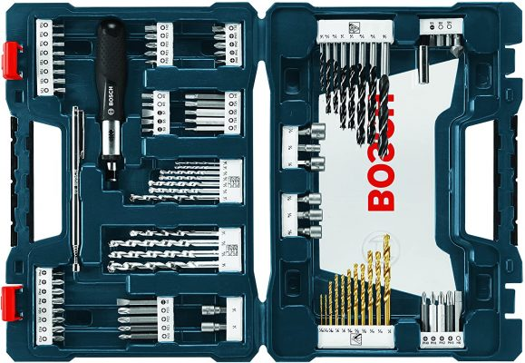 Bosch 91-Piece Drilling and Driving Mixed Set MS4091