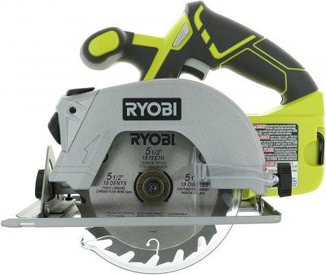 Ryobi P506 Cordless Circular Saw with Laser Guide