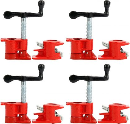 "YaeTek ¾"" Pipe Clamp Set"
