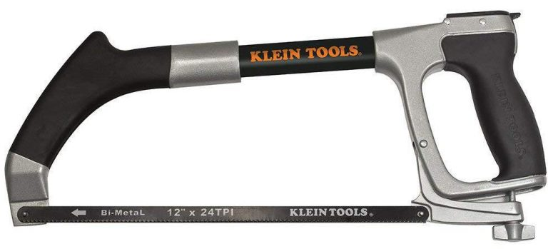 Klein Tools Hacksaw Frame with 24 TPI Hacksaw and Reciprocating Blades