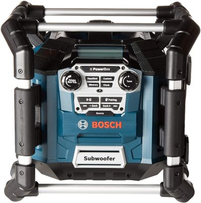 Bosch Bluetooth Power Box Jobsite Stereo
